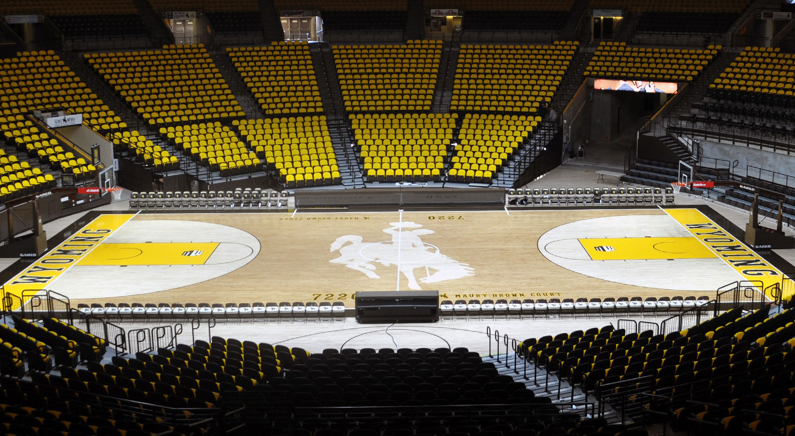 GARED Case Study - Wyoming University Maury Brown Court