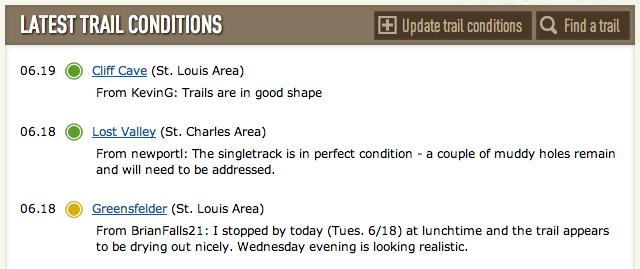 GORC Trail Conditions