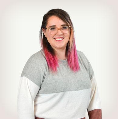Mindy Bollegar, Senior Front-End Developer