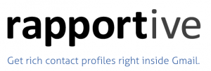 Rapportive Offers Enhanced Contact Profiles