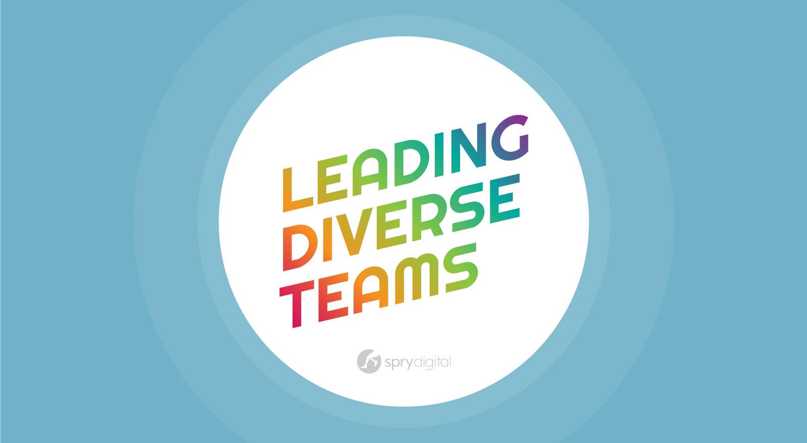 Leading Diverse Teams Banner