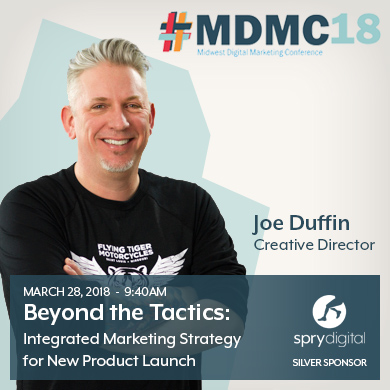 Spry Creative Director Joe Duffin Speaks Digital Stategy at MDMC