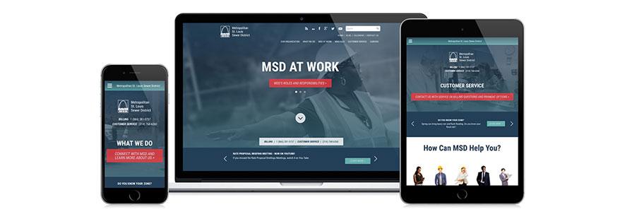 MSD Responsive Website