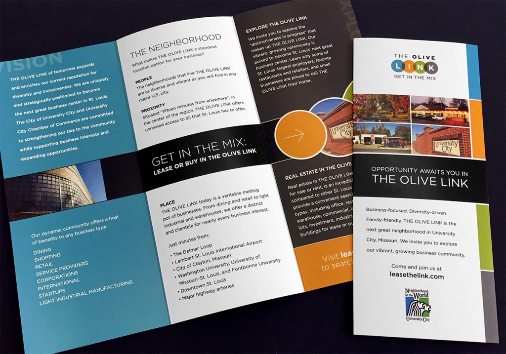 Spry Digital Case Study: The Olive Link Brochure