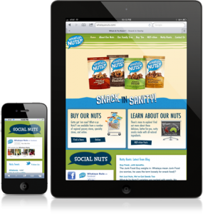 What-A-Ya Nuts?! Responsive Website